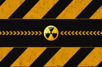 Image of a radiation symbol