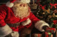 Boy Dies In Santa's Arms